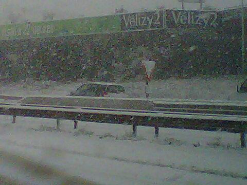 Neige à Velizy