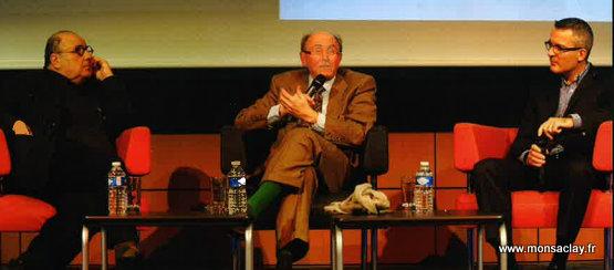 Serge Moati Dominique Wolton Stanislas Berteloot