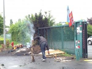 Grève des Cars d'Orsay