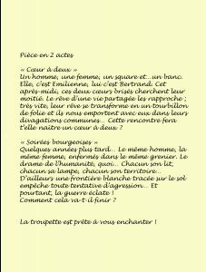 Affiche Soirées bourgeoises verso